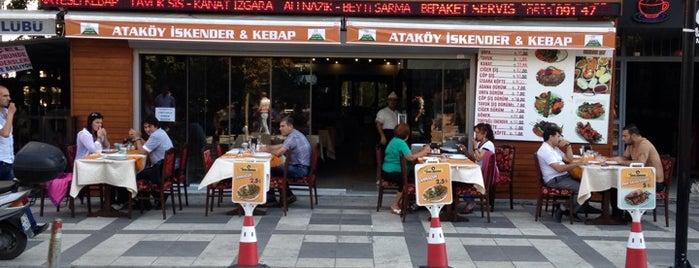Atakoy İskender Kebap is one of สถานที่ที่ Merve ถูกใจ.