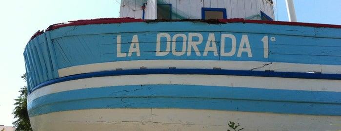 Barco de Chanquete, La Dorada 1a is one of Nerja.
