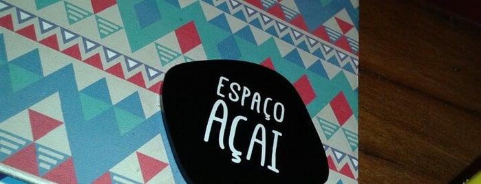 Espaço Açaí is one of Posti che sono piaciuti a Carolina.