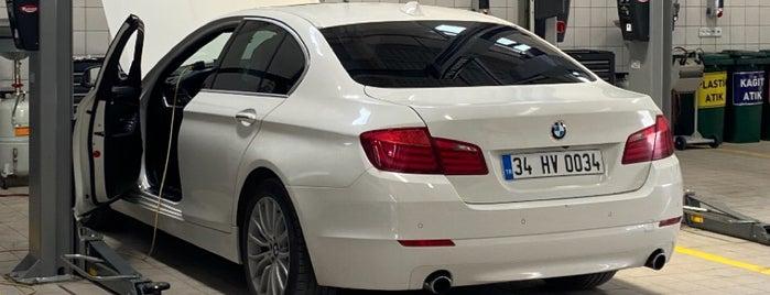 BMW Borusan Erenler Oto is one of Lieux qui ont plu à İzzet.