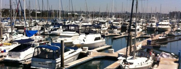 Harbor Island West Marina is one of Tempat yang Disukai Lisa.