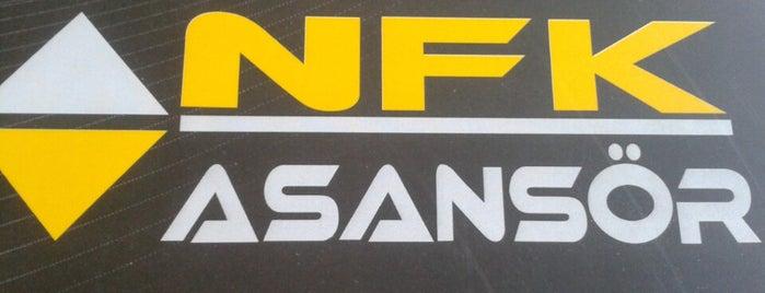 NFK Asansör is one of Pınarさんのお気に入りスポット.