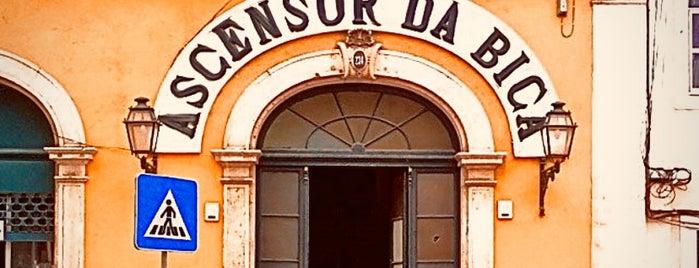 Ascensor da Bica is one of Lisboa.