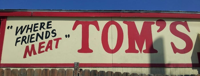 Tom's Bar-B-Q is one of Diners, Drive-Ins, & Dives.