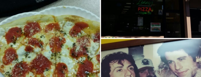 Lenny's Pizza is one of Go.