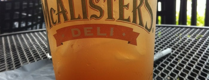 McAlister's Deli is one of NO PLACE LIKE. . ..