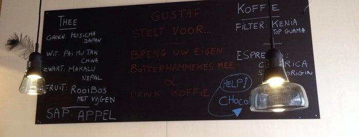 Gustaf is one of Belgium Coffeebars.