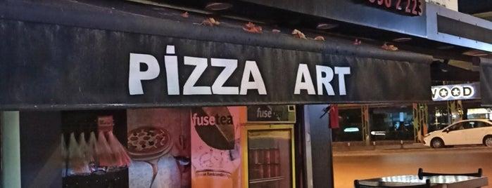 Pizza Art is one of Posti che sono piaciuti a Altuğ.