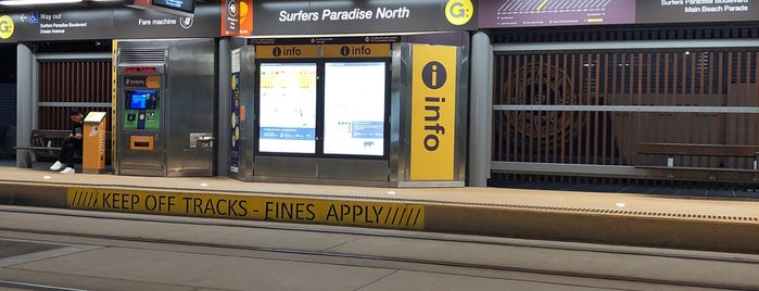 Surfers Paradise North Station is one of [todo] Gold Coast.