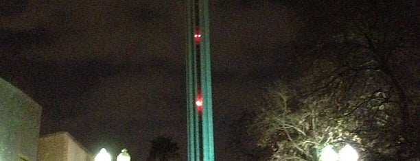 Tower of the Americas is one of West Coast Sites.