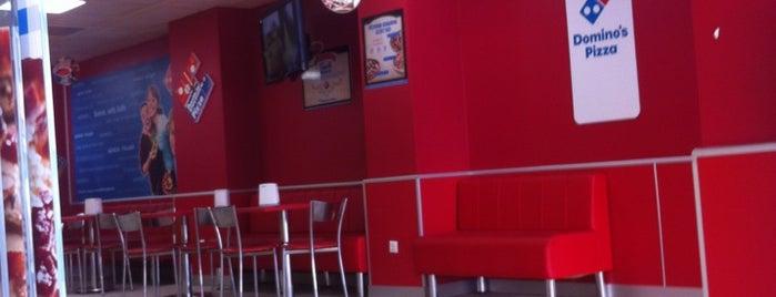 Domino's Pizza is one of Locais curtidos por Serkan.