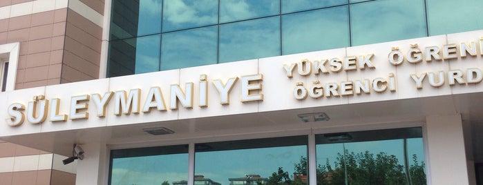 Süleymaniye Yüksek Öğrenim Öğrenci Yurdu is one of Locais curtidos por Ahmet Celil.