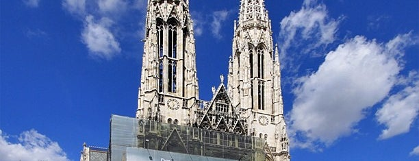 Votivkirche is one of Must-Visit ... Vienna.
