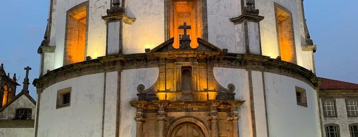 Mosteiro da Serra do Pilar is one of Porto.