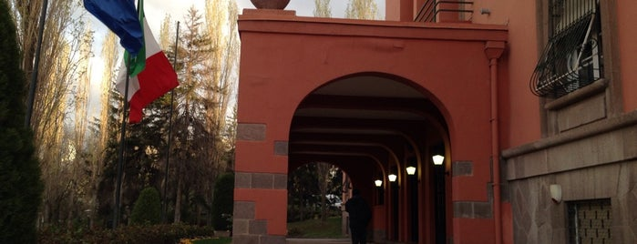 İtalya Büyükelçiliği is one of Mustafa: сохраненные места.