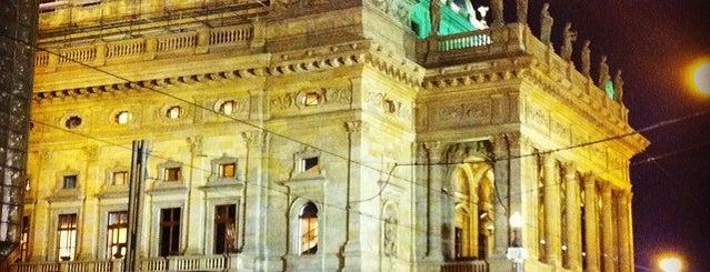 Národní divadlo is one of Pražské památky.