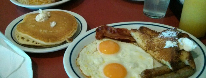 IHOP is one of LA.