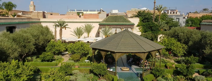 Le Jardin Secret is one of Morocco.