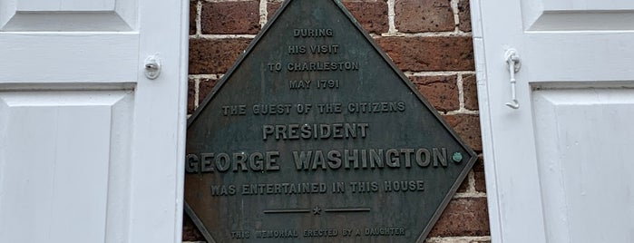 Heyward Washington House is one of Charleston, SC.