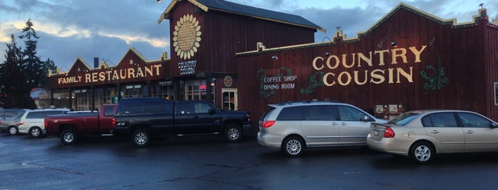 Country Cousin Restaurant is one of Top.