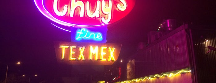 Chuy's is one of Austin Favorites.