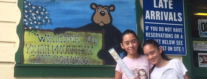 Yonah Mountain Campground is one of Danny'ın Beğendiği Mekanlar.