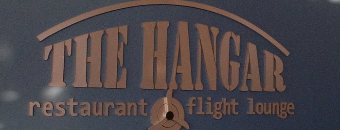 Hangar Restaurant and Flight Lounge is one of Favorite Food.