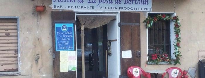 Hôsteria La Pôsa de Bertolin is one of Tempat yang Disukai Matteo.