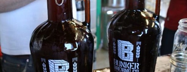 Bunker Brewing Company is one of Portland, ME.