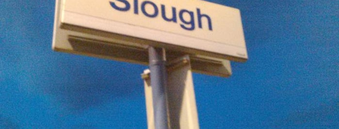 Slough Railway Station (SLO) is one of You calling me a train spotter?.