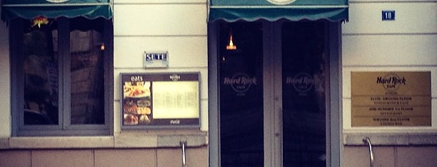 Hard Rock Café is one of Athens.