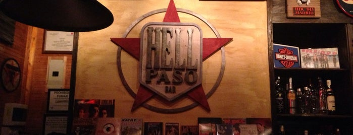 Hell Paso is one of metal bar.