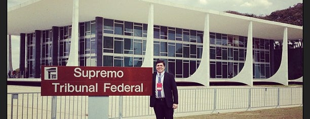 Supremo Tribunal Federal (STF) is one of Pontos Turisticos.