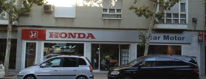 HONDA SUCAR MOTOR, S.A. is one of Lieux qui ont plu à m.