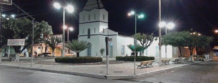 Praça da Matriz de Pindoretama is one of Lugares guardados de Arquidiocese de Fortaleza.