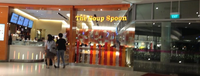 The Soup Spoon Union is one of Veggie choices in Non-Vegetarian Restaurants.
