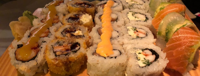 Tenkuu Sushi is one of ¿A dónde iría Carlos Maslatón?.