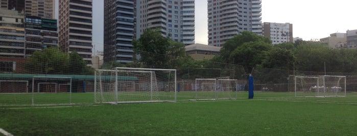 Canchas Claudio Marangoni (sede Parque Las Heras) is one of สถานที่ที่ Fernando ถูกใจ.