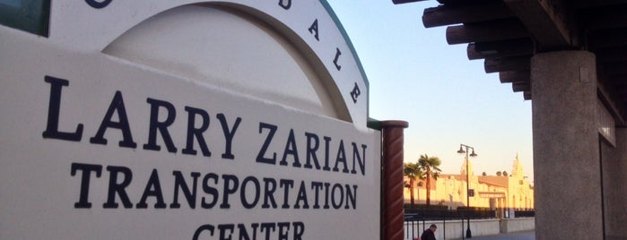 Larry Zarian Transportation Center is one of Daily Commute.