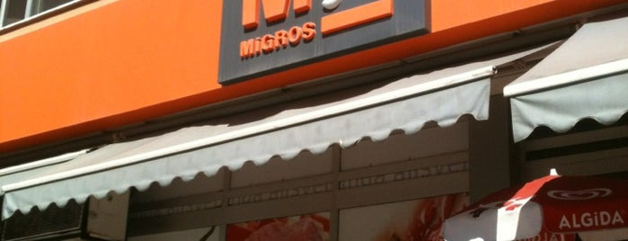 Migros Jet is one of สถานที่ที่ JOY ถูกใจ.