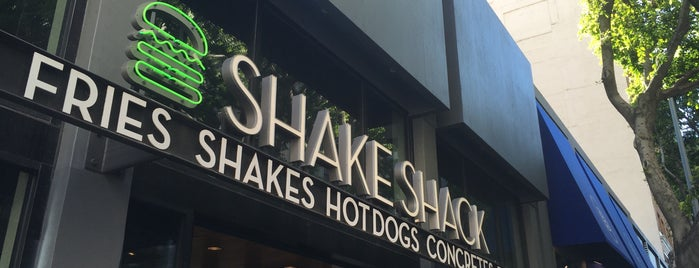 Shake Shack is one of LAX.