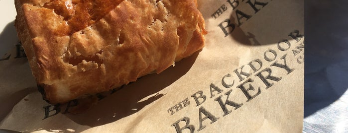 The Back Door Bakery & Cafe is one of สถานที่ที่ Agnieszka ถูกใจ.
