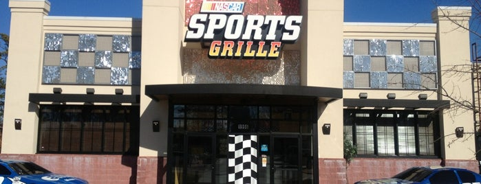 NASCAR Sports Bar and Grille is one of Local Redskins Rally Bars.