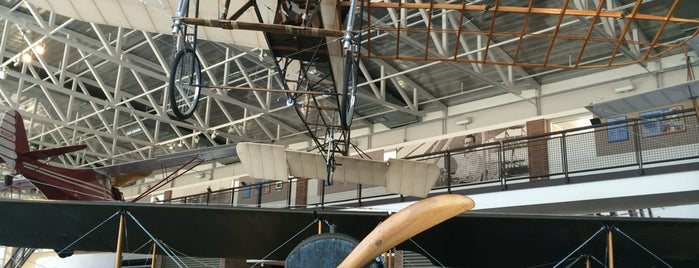 College Park Aviation Museum is one of 20 of the Best off the Beaten Path Museums in D.C..