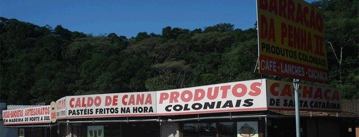 Barracão da Penha II is one of O Bom do Litoral Sul Catarinense.