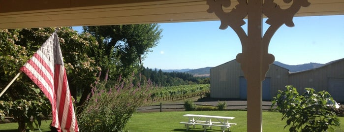 David Hill Winery is one of Oregon Wining.