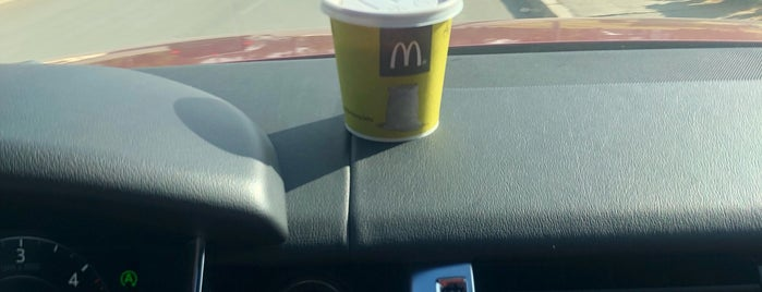 McDonald's is one of Kevin : понравившиеся места.