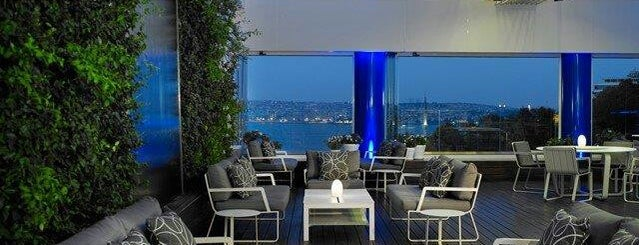 The Ritz-Carlton Bleu Lounge & Grill is one of İstanbul.