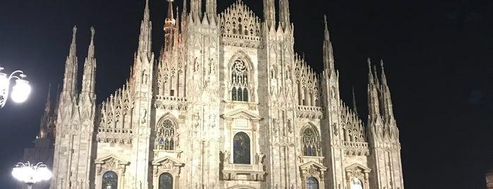 Duomo di Milano is one of สถานที่ที่ K ถูกใจ.