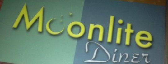 Moonlite Diner is one of Late Night Eateries #VisitUS.
